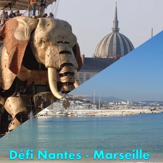 Défi Nantes Marseille